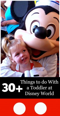 30+ Things To Do With A Toddler At Disney World | PinkWhen.com