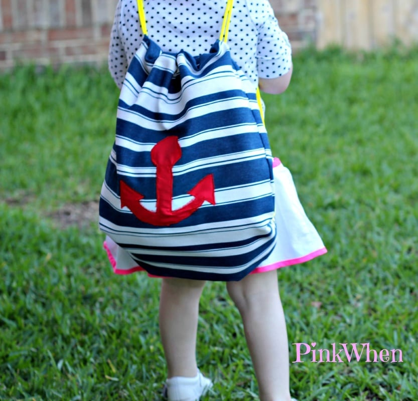 Easy Drawstring Backpack Tutorial With Jo Ann Fabric And