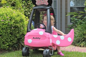 Cozy Coupe to Minnie Mouse re do