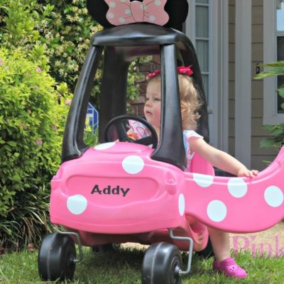 Cozy Coupe to Minnie Mouse Coupe Tutorial
