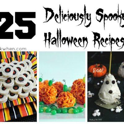 25 Deliciously Spooky Halloween Recipes