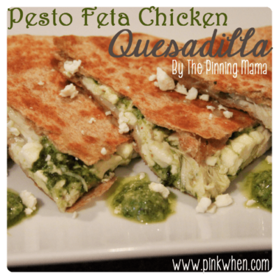 Pesto Feta Chicken – Guest Post from The Pinning Mama!