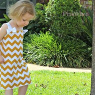 Chevron Bathing Suit Cover Up
