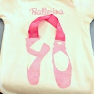 Ballerina T Shirt Design and Silhouette Promotion