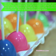 Easter Egg Popsicles ~ DIY