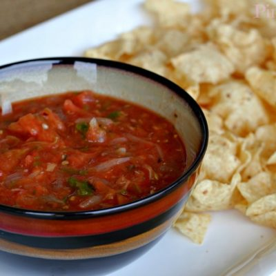 How to Make a Fire Roasted Salsa on the Grill