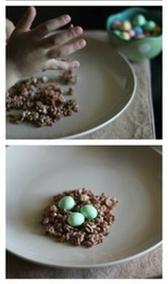 Easter Nest Snack