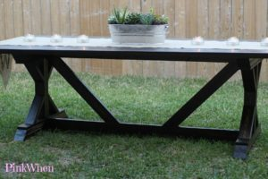 Finished Farmhouse Table