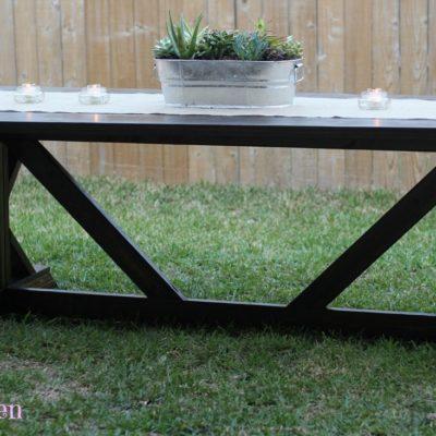 How to Build a Farmhouse Table (Part 2)