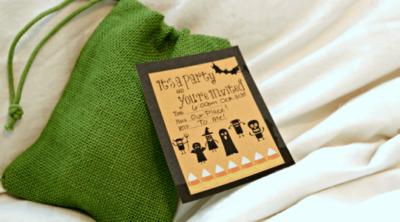 Halloween Invite Printable