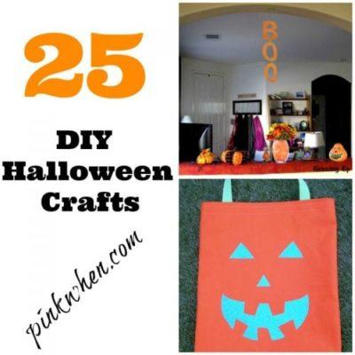 25 DIY Halloween Crafts