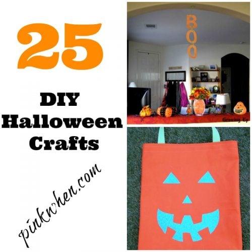 25 diy halloween crafts   pinkwhen
