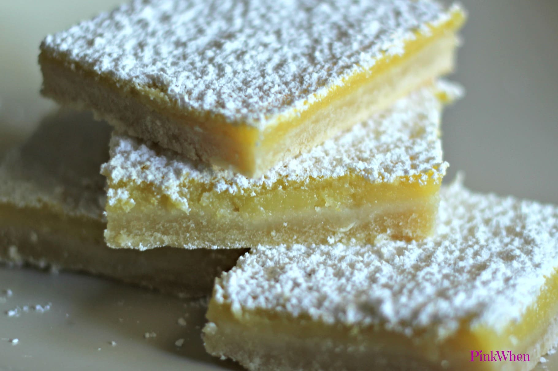 The BEST Lemon Bars Recipe - PinkWhen