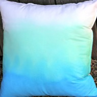 Earth Day Ombre Pillow