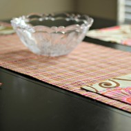 Runner and Place Mats From The HGTV HOME Line from Jo-Ann Fabric and Crafts