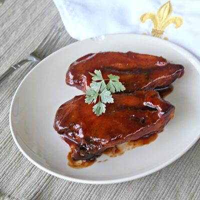 Slow Cooker BBQ Chicken