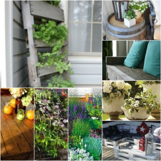 Spring Patio and Outdoor Inspiration Ideas
