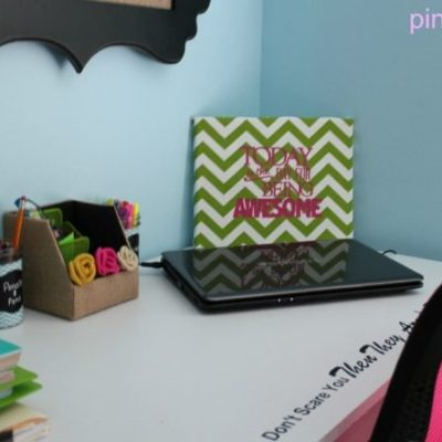 Student Desk Ideas – The Finale and Free Printable