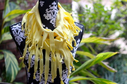 How to Make a T Shirt Scarf with Fringe