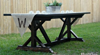 Build a Farmhouse Table