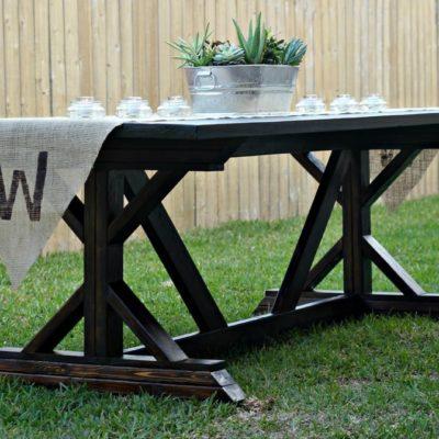 How to Build a Farmhouse Table (Part 1)