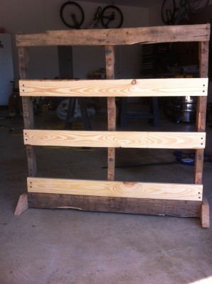 After facing was added to pallet