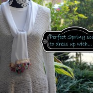 Simple Sew Scarf Tutorial
