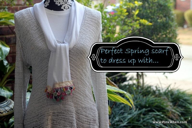 Simple Sew Scarf Tutorial
