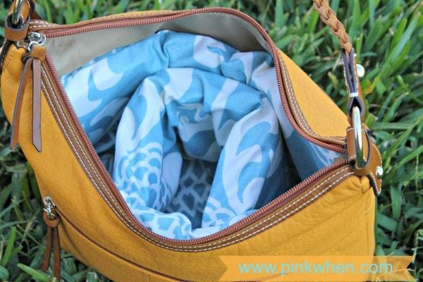DIY Designer Camera Bag From Purse #Waverize