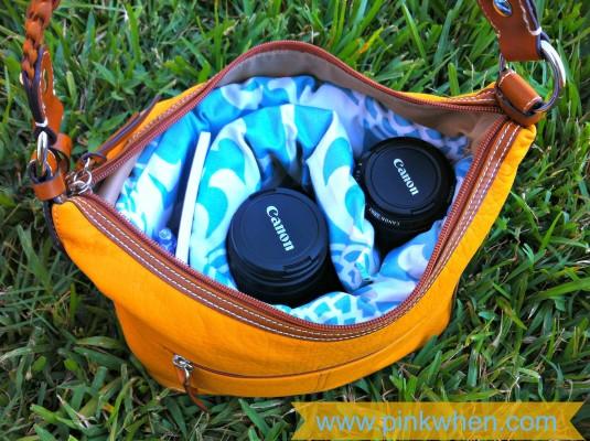 DIY Designer Camera Bag #Waverize
