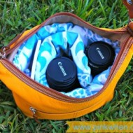 DIY Designer Camera Bag #Waverize