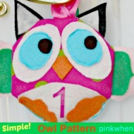 Sew Simple Owl Pattern