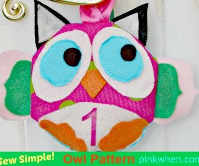 Sew Simple Owl Pattern