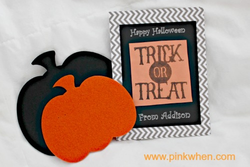 Halloween Card with Silhouette Stamping Kit