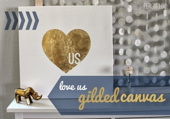 LoveUs Gilded Canvas
