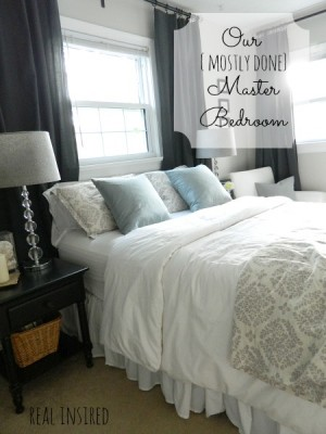 Master Bedroom Reveal from Real Inspired