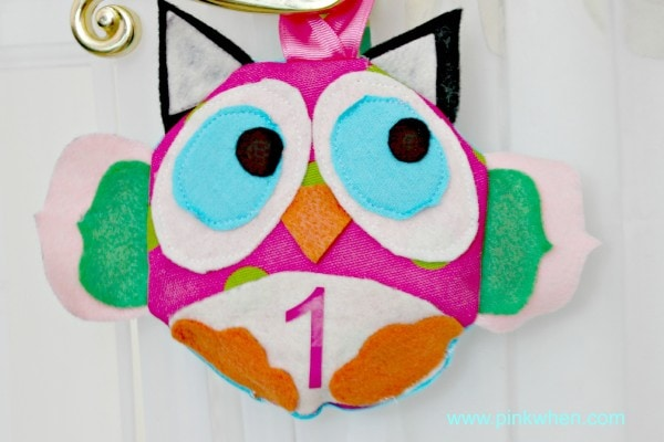 Sew Simple Owl Pattern PinkWhen.com