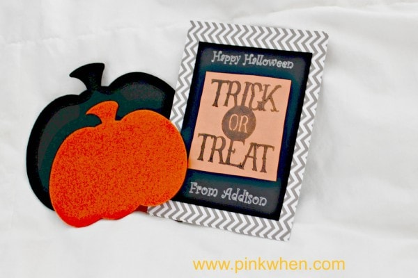 Silhouette Stamping Kit Idea for Halloween!
