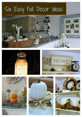 Six East Fall Decor Ideas by Meegan Makes