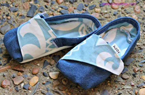 DIY Super Cute TOMS Inspired Personalized Toddler Shoes