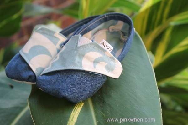 Super Cute DIY TOMS Inspired Toddler Shoes