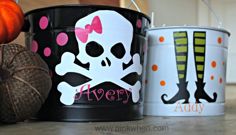 halloween buckets - Halloween Trick Ideas