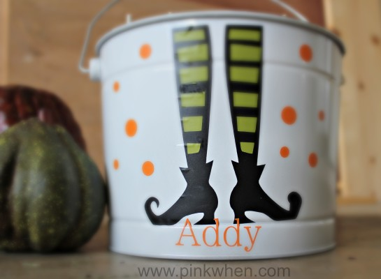 Trick or Treat Halloween Ideas from PinkWhen.com