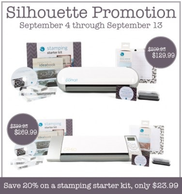 Silhouette Stamping Kit Blogger Promotion