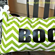 Simple Sew Boo Pillow Tutorial