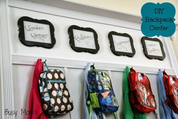 DIY Backpack Center Other 2