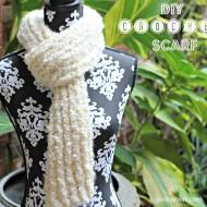 DIY Crochet Scarf