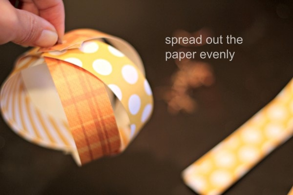DIY Paper Pumpkin 2