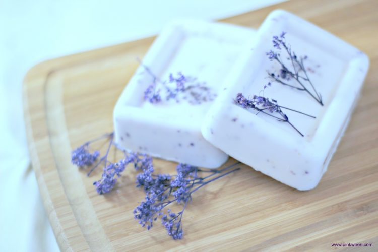 Homemade Lavender Soap Recipe Pinkwhen