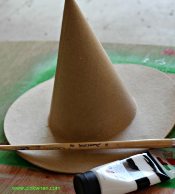 Paint Witch Hat